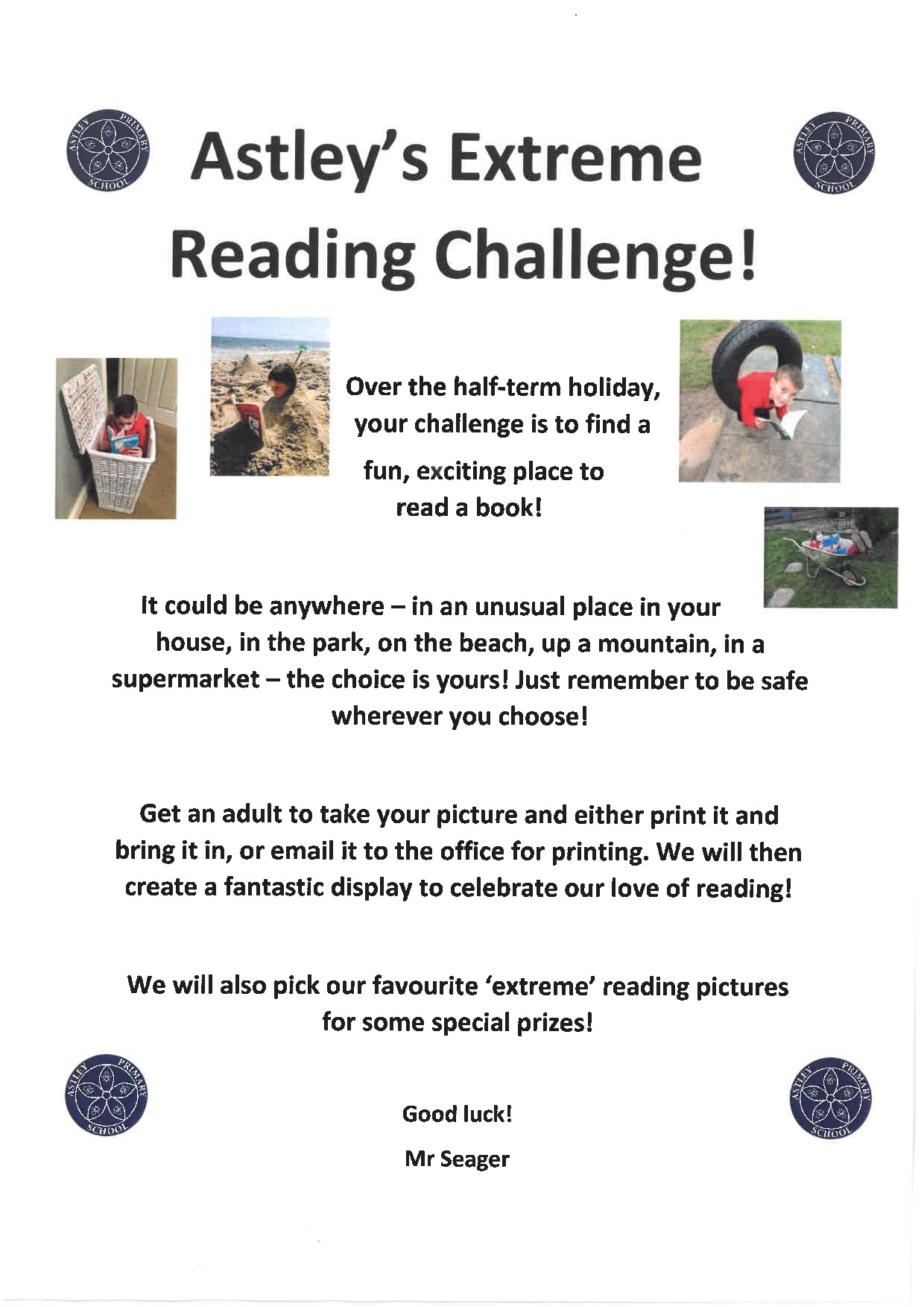 Astley's Extreme Reading Challenge!